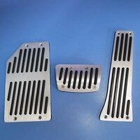 Car Accessories High Quality Aluminium Accelerator Gas Fuel Brake Foot Rest Pedal Pads For KIA Sorento
