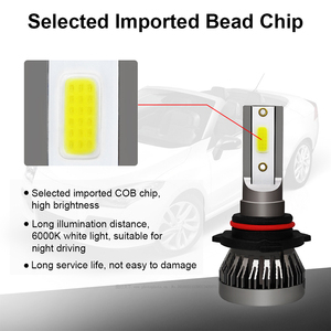 Image 2 - 2PCS Car headlight Mini Lamp H7 LED Bulbs H1 LED H8 H11 Headlamps Kit 9005 HB3 9006 HB4 6000k Fog light 12V LED Lamp 36W 8000LM