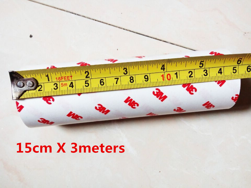 15cmx2m Bicycles Protective Film Clear Transparence 3M Rhino Skin Sticker Vinyl Film Thickness 0.2mm Bikes Protective