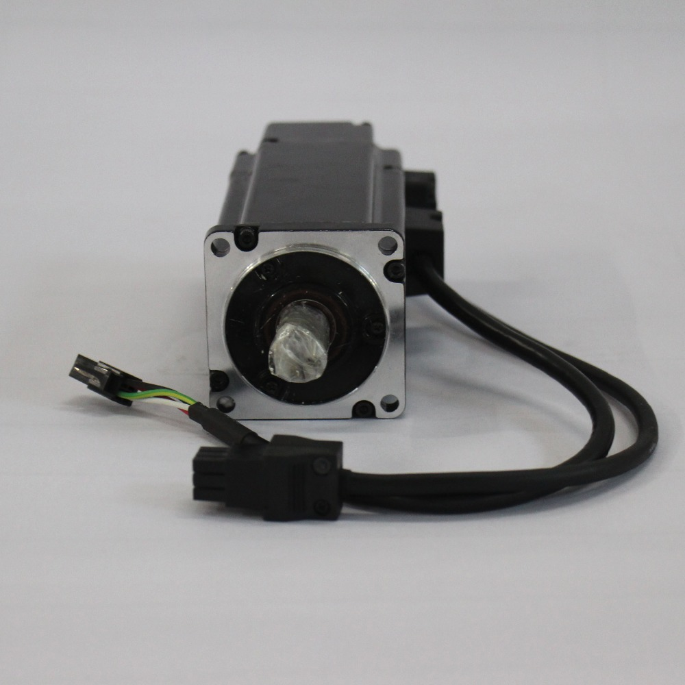 ECMA-C20602ES 60mm AC Servo Motor 220V 200W 3000rpm Delta Servo Motor with Keyway New original new delta 0 2kw 200w servo motor set asd a0221 ab ecma c30602rs 60mm 3000rpm 220v