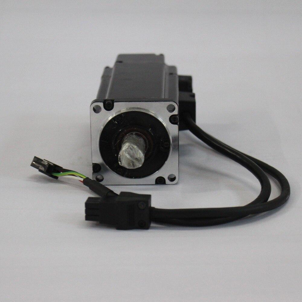 ECMA C20602ES 60mm AC Servo Motor 220V 200W 3000rpm Delta Servo Motor with Keyway New