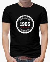 Spring summer The price of men t shirt Making history since 1965 Short Casual Cotton anime mens Hipster Tees