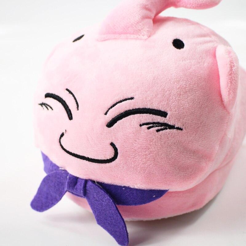 Dragon Ball Z Majin Buu Plush Slippers Winter Indoor Warm Shoes Soft Stuffed Toys Dolls Dolls & Stuffed Toys Toys & Hobbies