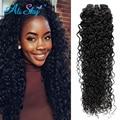 Kinky Вьющиеся 3 связки необработанные волос weave Индийский девы волос Связки Хороший Кудри Кудрявый Вьющиеся Норки Индийский Волос