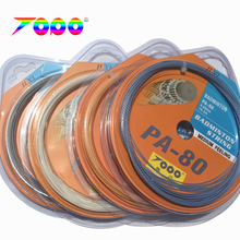Макс фунтов 33lbs 10 шт./лот PA80 Бадминтонные струны