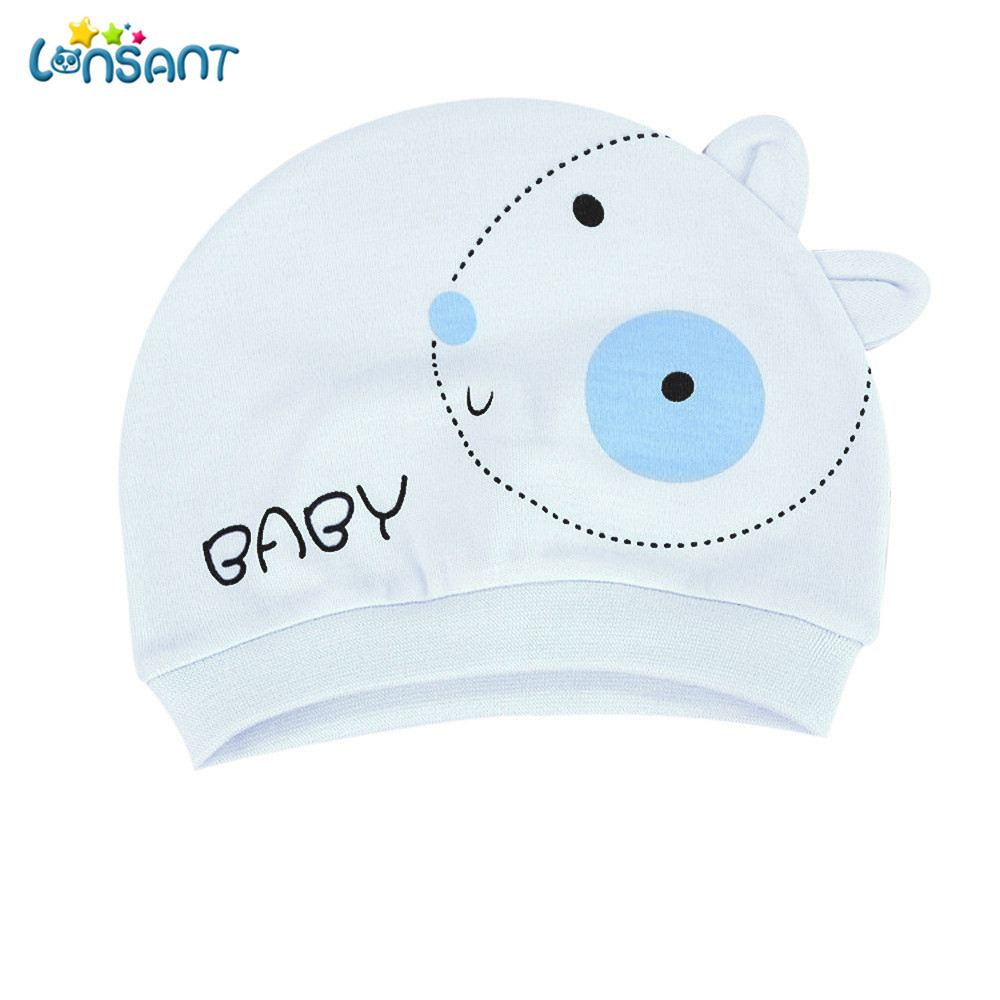 LONSANT New Hot Baby Girl Autumn Baby Hat Warm Cotton Toddler Beanie Cap Kids Girl Boy Hats цена в Москве и Питере