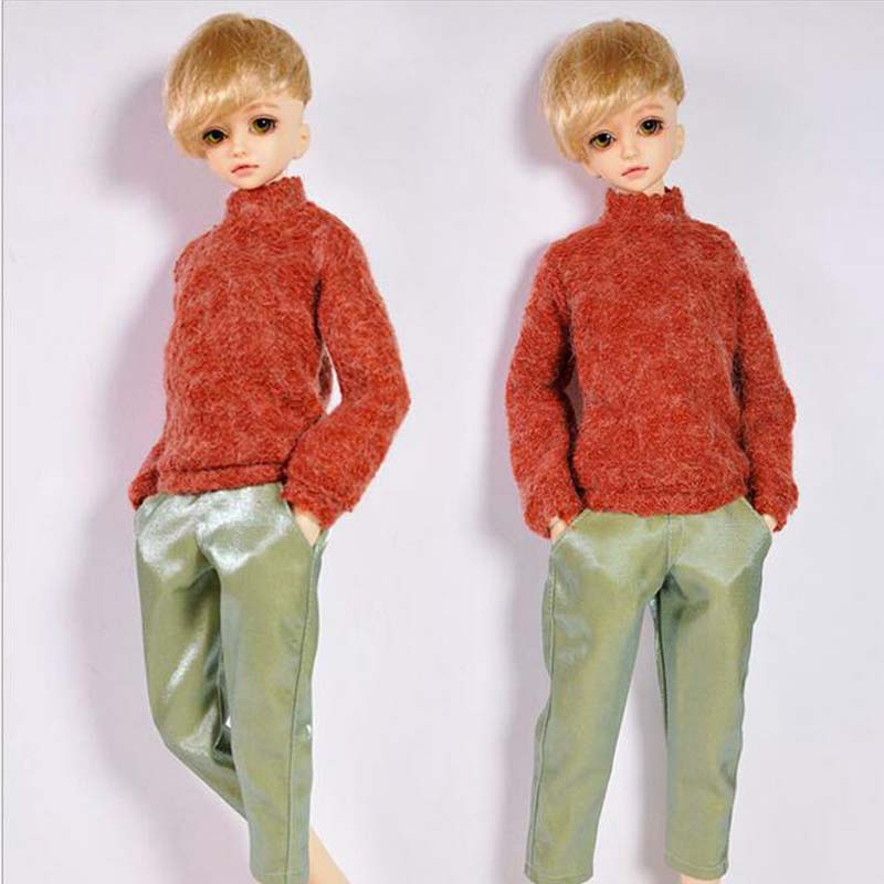 Sweater+Pant SD BJD Doll Accessories 1/4 BJD Doll Clothes Boy pieces рукавицы pieces модель 2780524