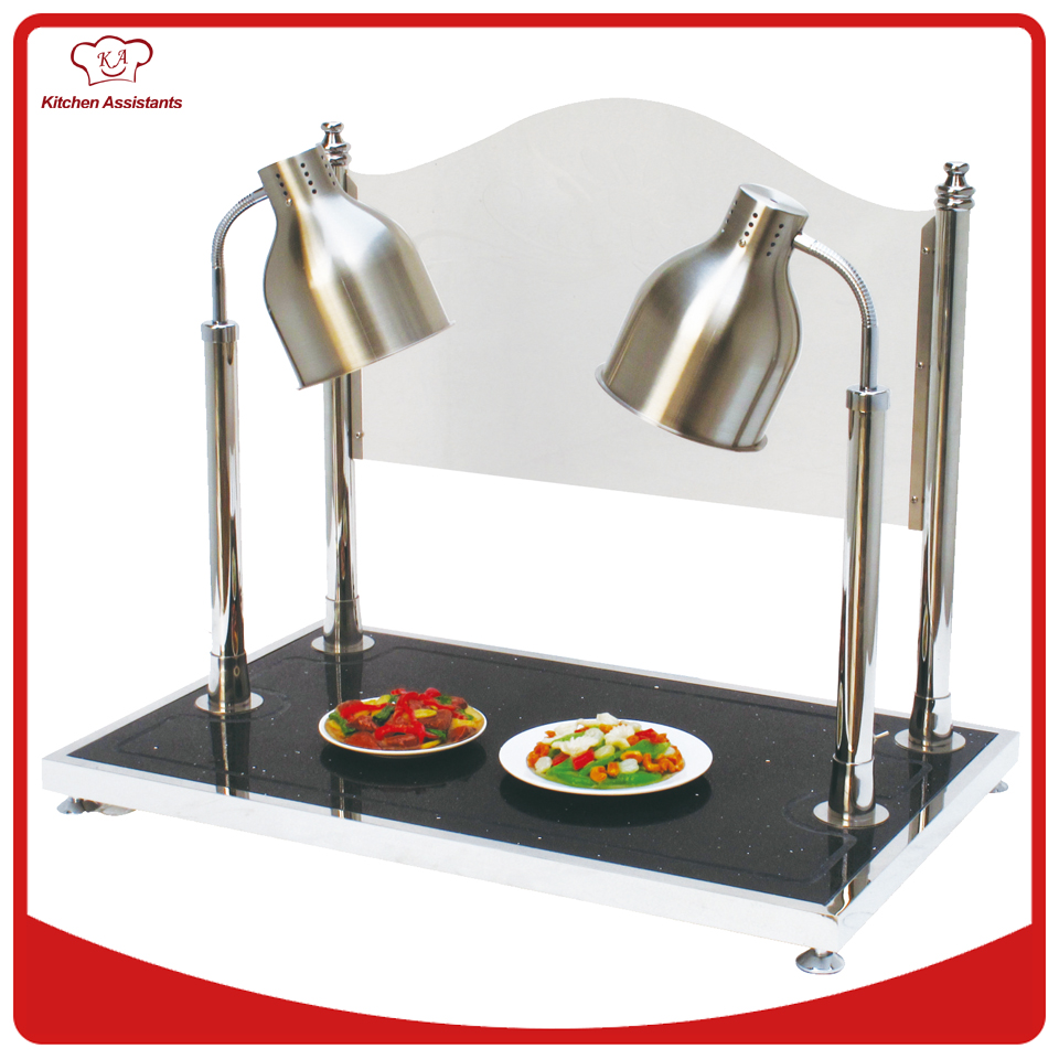 Alto shaam cs heated dual lamp carving station v french