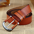 2016 New Brand Belts Luxury Mens Belts Leather Pin Buckle Original Cowskin Jeans Straps Vintage Designer Belts W3