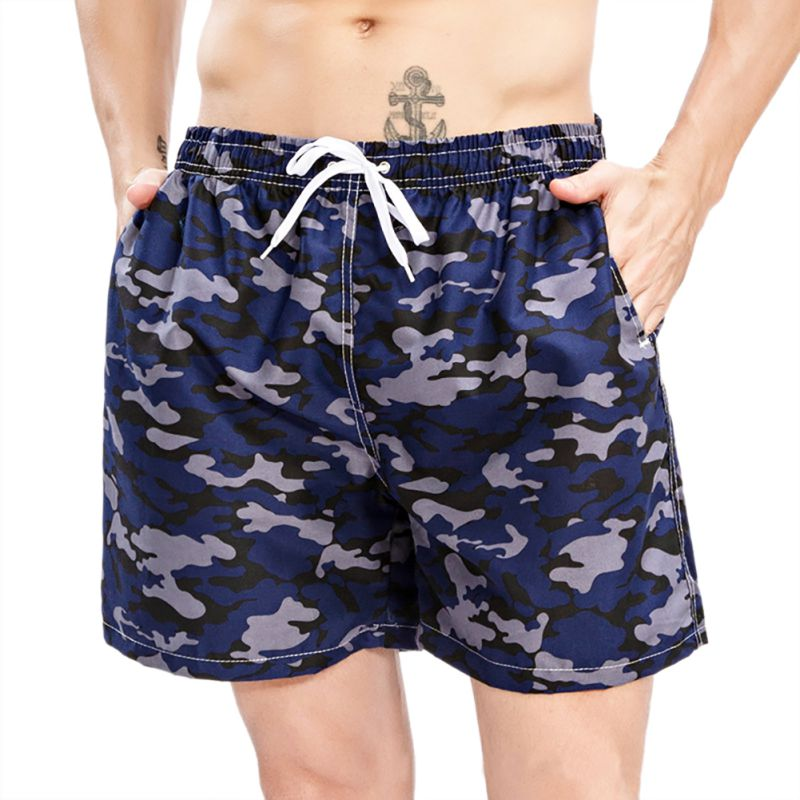 Hospitable Cockcon 2019 New Summer Man Beach Short Pants Quick Drying Print Shorts Casual Fashion Board Shorts Q12 Men's Clothing