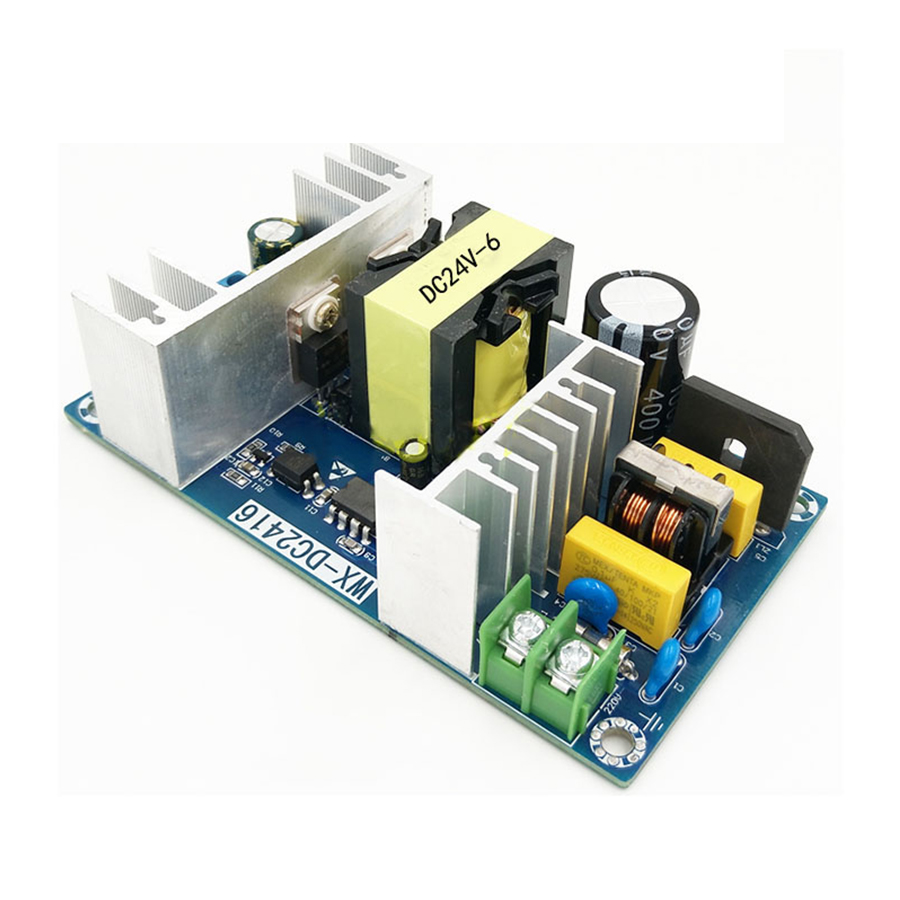 1Pc 24V 6A 150W Switching Power Supply Module AC 110V 220V To DC 24V High Power Industrial Switching Board aqua 2