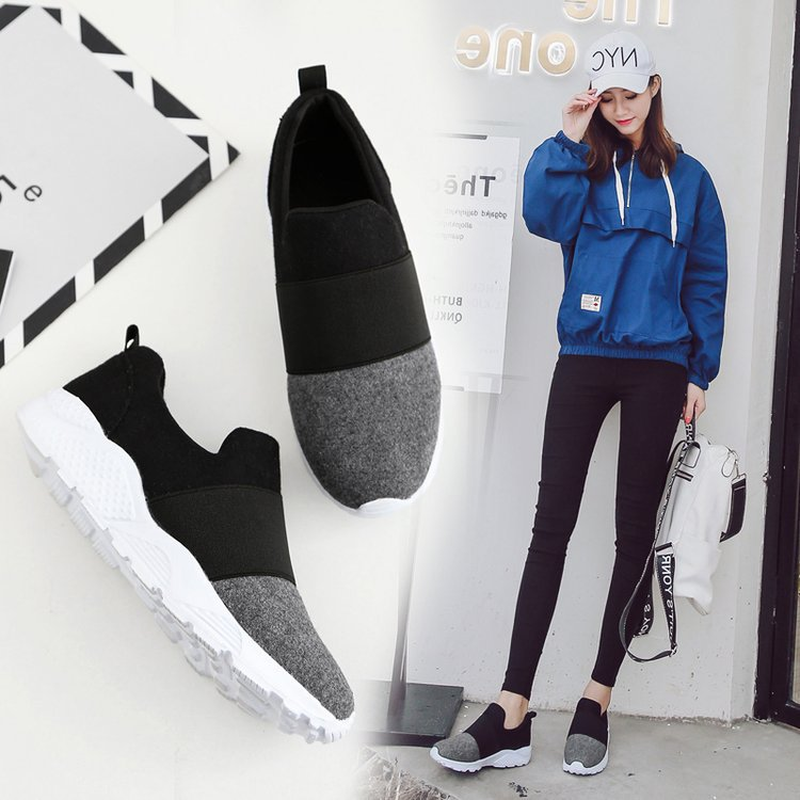 New Discount Womens Shoes Flats Loafers Breathable Fashion Sneakers Casual Shoes Woman Mixed Colors Slip-On Plus Size 36-43New Discount Womens Shoes Flats Loafers Breathable Fashion Sneakers Casual Shoes Woman Mixed Colors Slip-On Plus Size 36-43