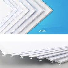 Wiking ABS Толщина 200 мм x 250 мм ABS стирольные листы Белый больше пропорций