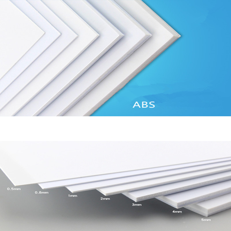 Wiking   ABS Thickness 200mm X 250mm ABS Styrene Sheets White NEW More Proportion