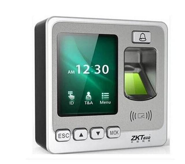 Biométrico de Huellas Digitales de Control de Acceso Lector de RFID Escáner de Código de Sensor Digital de La Máquina Eléctrica Sistema De Cerradura de La Puerta
