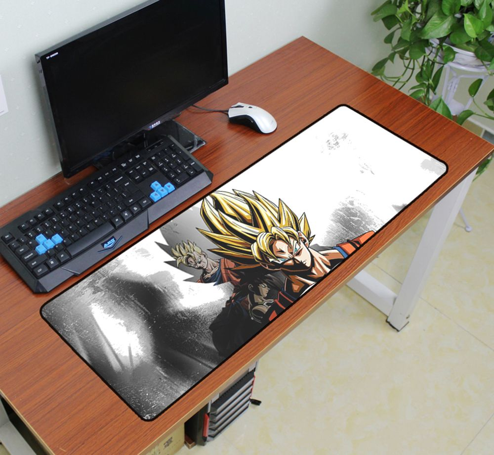 Dragon Ball mouse pad 900x300x3mm pad to mouse Custom notbook computer mousepad anime gaming padmouse gamer
