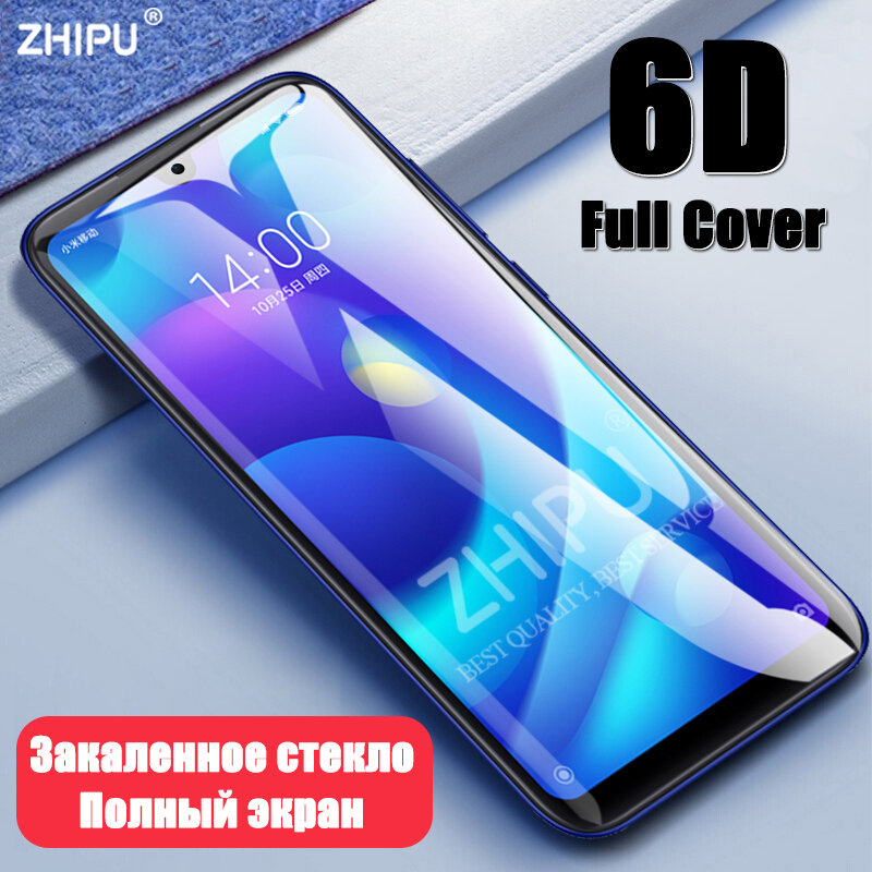 6D Tempered Glass For Xiaomi Redmi Note 7 Mi Play Full