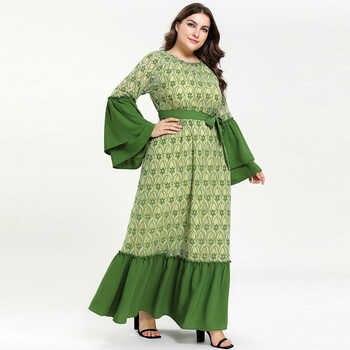 Kaftan Abaya Islam Muslim Dress Ramadan Arabic Hijab Dress Abayas For Women Elbise Turkish Islamic Clothing Robe Dubai Caftan - DISCOUNT ITEM  53% OFF All Category