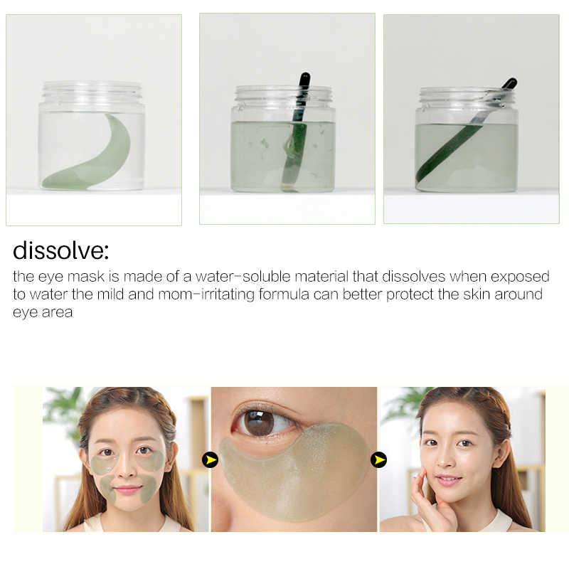60 Pcs Efero Kolagen Mata Masker untuk Wajah Anti Kerut Gel Tidur Masker Emas Mata Patch Di Bawah Mata tas Lingkaran Hitam Mata Bantalan