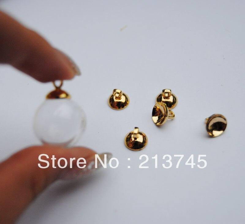 ᗑEnvío Gratis! 20 set/lote 16mm * 4mm (apertura) burbuja y 6mm tapa ...