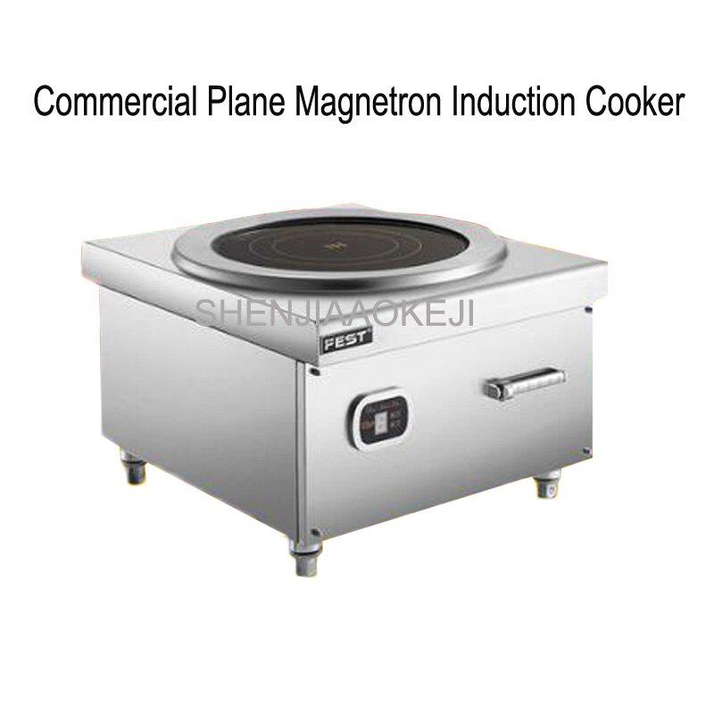 Высокой мощности индукционная плита 380 В коммерческих 8KW/12KW/15KW суп жарки печь плоскости Настольный кухня коммерческих плита 1 шт.