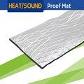 1 Piece 20CM x 100CM Aluminum Foil Car Heat Shield Sound Proofing Cover Insulation Mat Material Deadening Noise Control Deadener