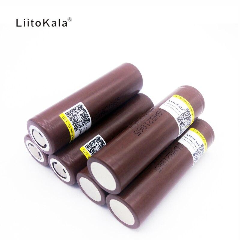 Baterias Recarregáveis 1 pcs original 18650hg2 liitokala Tipo : Li-ion