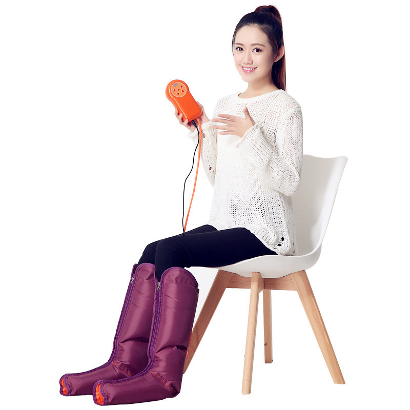 Multi-Function Air Pressure leg Massager Electric Foot massager leg beauty apparatus physiotherapy air wave massage apparatus
