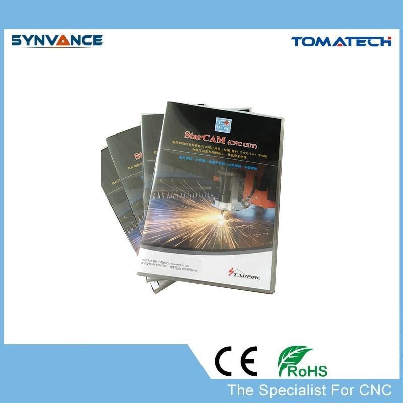 ENGLISH Language STARCAM CNC Plasma Cutting machine nesting software