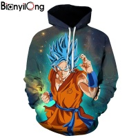 Dragon Ball Hoodies Men Women 3D Hoodie Dragon Ball Z Sweatshirts Anime Fashion Casual Tracksuits Boy