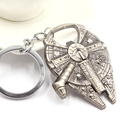 New keychain Bottle Opener Star Wars Millennium Falcon Metal Keyring Keychain Convenient to carry For Men Women Jewelry