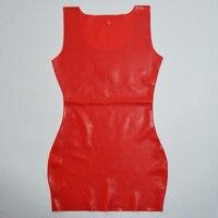Red Latex Dress Mini Dress Sexy Lingerie Rubber Fun Fancy Dresses