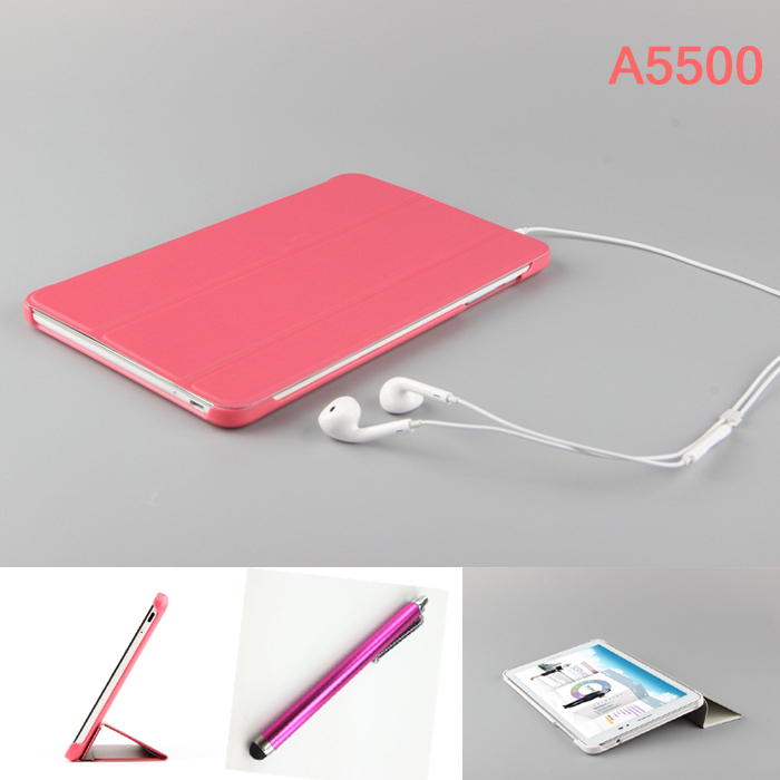 High quality Fashion Slim PU Leather for lenovo A5500 case for Lenovo 5500 Tab A8-50 A5500 8 inch Tablet cover +Pen ultra thin smart flip pu leather cover for lenovo tab 2 a10 30 70f x30f x30m 10 1 tablet case screen protector stylus pen