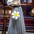 Милый Цветок Солнца Сладкий Сумки На Ремне, Женщины Сумка Личности Сумка Tote Сумки Сумка Кошелек Бесплатная Доставка SS0026