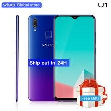 vivo U1 Mobile Phone 6.2inch Screen 3G RAM 32G ROM Snapdragon439 Octa Core Android 8.1 4030mAh Big Battery Face ID Smartphone