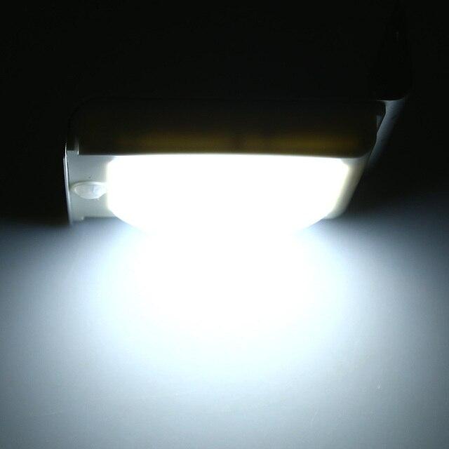 2PCS 16 LEDs Waterproof Solar Wall Lamp  4