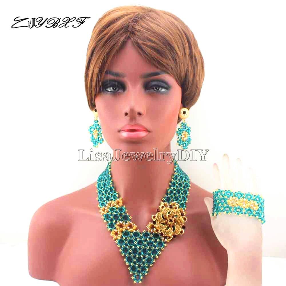 Africano New Mix Traje Nupcial Indio Joyería de Las Mujeres de Moda ...