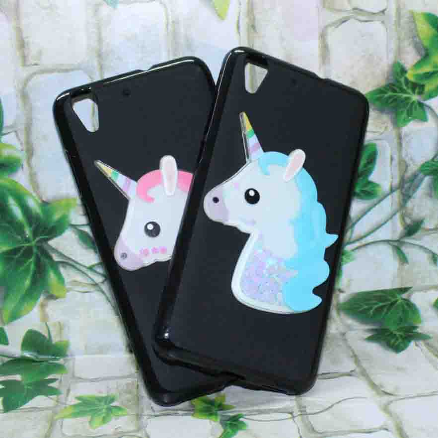 Girls Glitter Dynamic Liquid Quicksand Case For Huawei Y6ii CAM L03 L21 L23 5.5 inch Case Soft Silicone Back Cover