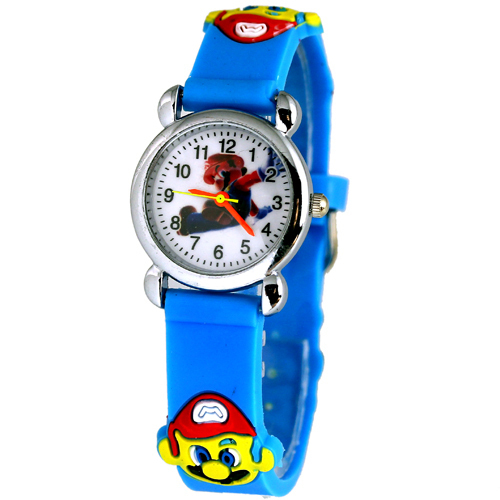Valued Buy! jelly Color 3D Cartoon Super Mario Watch Birthday Gift Watches For C