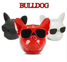COOL Bulldog Bluetooth altavoz Mini Bull Dog estilo Audio carga 3 para Iphone Samsung Tablet(China)