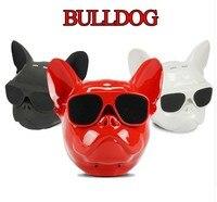 COOL Bulldog Bluetooth Speaker Mini Bull Dog Style Audio Charge 3 For Iphone Samsung PC PAD