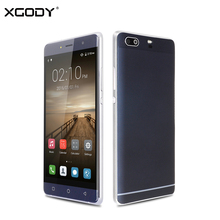 XGODY X23 3G Smartphone Android 6.0 5 Inch MTK6580 Quad Core 512MB RAM 8GB ROM 5MP 1280×720 Screen GPS WiFi Unlocked Cell Phones