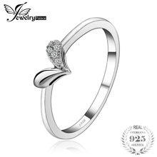 26b80e43d716 JewelryPalace corazón Charm Cubic Zirconia 925 plata esterlina 2018 Nueva  joyería de moda bonito regalo para las mujeres esposa .