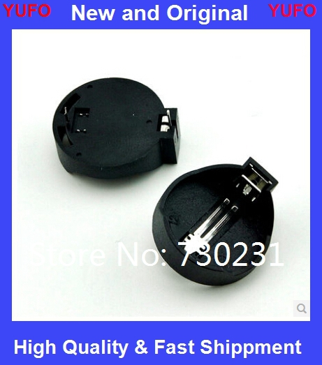 10Battery Button Cell Holder Socket Case CR2032 cr2032 battery holder 2032 - New & Original store