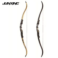 3 Color 30-60 lbs American Hunting Bow in IBO 190FPS with 17 inches Riser Traditional Long