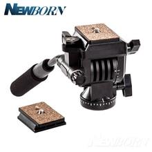 Yunteng yt 950 360度油圧圧力流体ドラッグ一脚デジタル一眼レフdvビデオカメラ撮影撮影スライダーレール