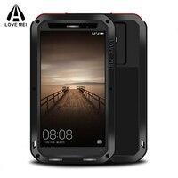 Полный Средства ухода за кожей защитный Huawei Коврики 9 чехол + гориллы Стекло Алюминий Металл противоударный Панцири для Huawei Коврики 9 телефо...