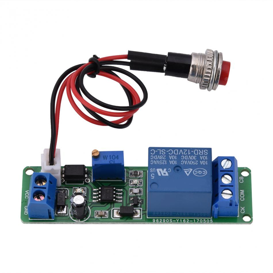 Dc 12v Adjustable Timer Delay Turn Off Module Timing Relay