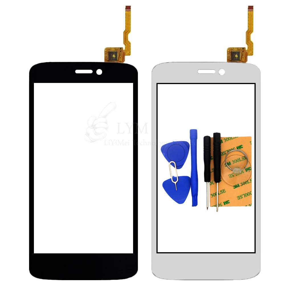 Black White TP for Qumo Quest 401 4 0 Touch Screen Digitizer Glass Panel No LCD