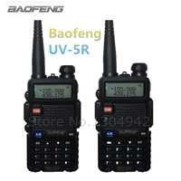 2 PCS New 2014 Black BAOFENG UV 5R Walkie Talkie 136 174 400 520MHz Two Way